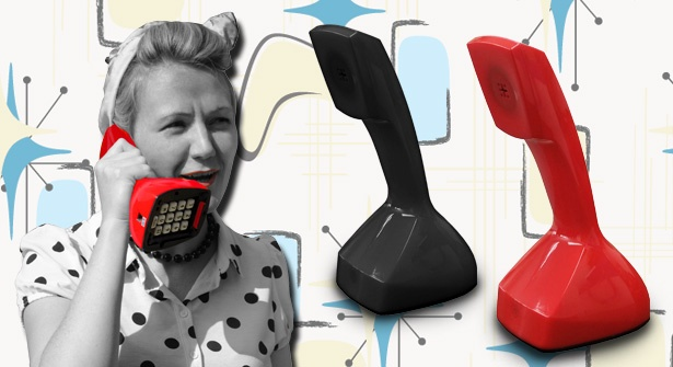 Introduce chic retro design into your home with the stylish Nordicofon Scandinavian telephone. This Vintage phone is packed full of 21st century features including an electric ringer & last number redial