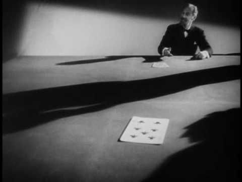 Spellbound, directed by A. Hitchcock (1945) - Dreams scene designed by artist Salvador Dalí