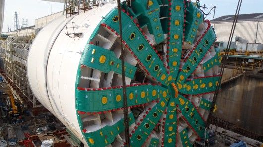"On Saturday,the world's largest tunnel boring machine was dedicated in the city of Seattle. ""Bertha,"" as it's known, will spend the next 14 months boring a 1.7 mile (2.7 km) tunnel under the city to replace a viaduct damaged in a 2001 earthquake. Gizmag took a look inside the giant machine."