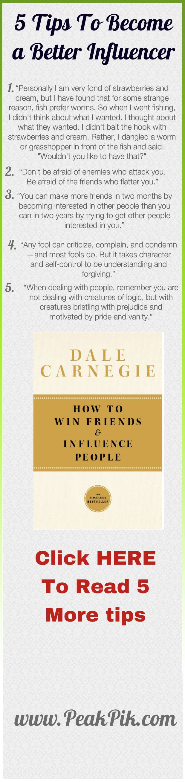 how to make friends and influence others book