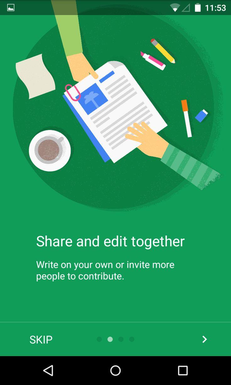 Google Doc app walkthroughs