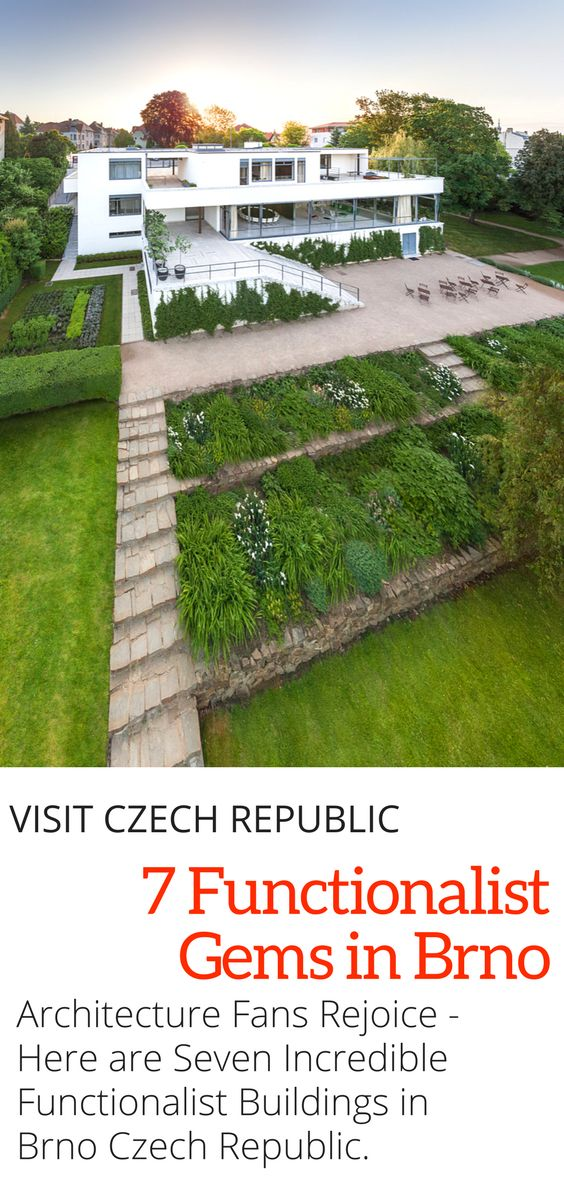 """Brno Czech Republic Travel: Here are seven functionalist buildings in Brno that architecture fans shouldn't miss when visiting the Czech Republic's """"second city"""". Click here to discover these architectural gems!"""