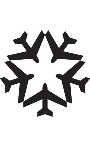 Airlines of America by Pentagram. #blackandwhite #airplanes http://www.pinterest.com/TheHitman14/black-and-white/