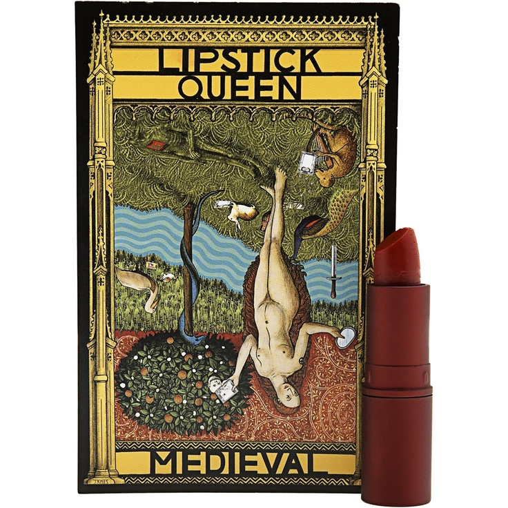Lipstick Queen in Medieval - super flattering and moisturizing (and doubles as blush)