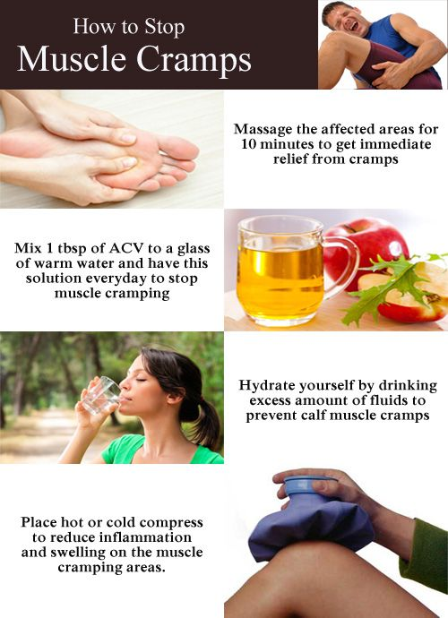 Get Rid Of Leg Cramps Naturally