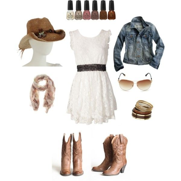Minnesota: Rodeo Cowgirl, created by lowrystephanie.polyvore.com