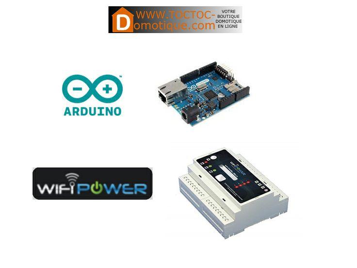Piloter un module 4 relais de Wifipower avec une carte Arduino Ethernet