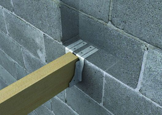 Masonary Joist Hanger Google Search Landscaping Wood