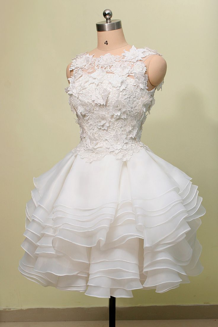 25+ best ideas about White dresses for graduation on ...