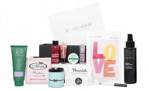 #FebruaryGlowbox #beautybox #freshline #moxiegr #nourishskincare #ilovecosmetics #lilylolo #mariobaescu #murad #avongr