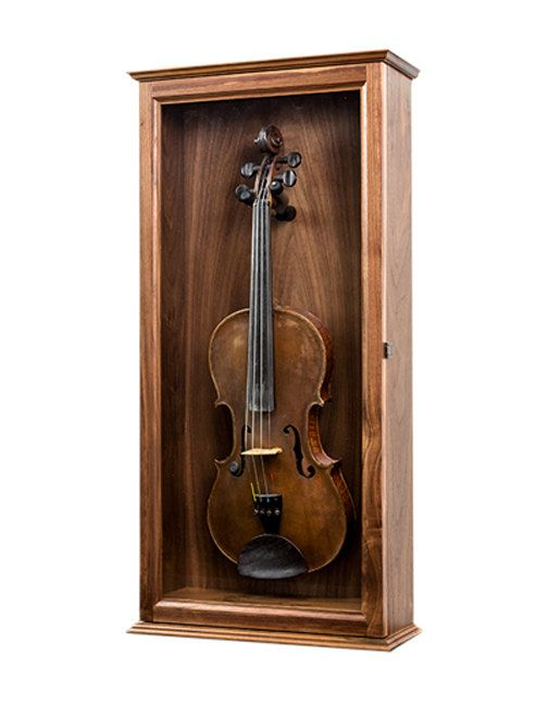 Instrument Display Case Perfect For A Violin Mandolin Or