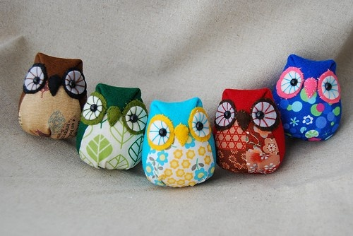 Fabric owls!!: Pattern, Stuff, Hoot Hoot, Fabric Owls, Adorable, Felt Owls, Craft Ideas, Photo, Crafts