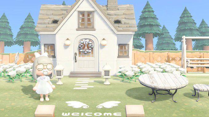 オカッピ 木の家具に囲まれたい Animal Room Animal Crossing Qr