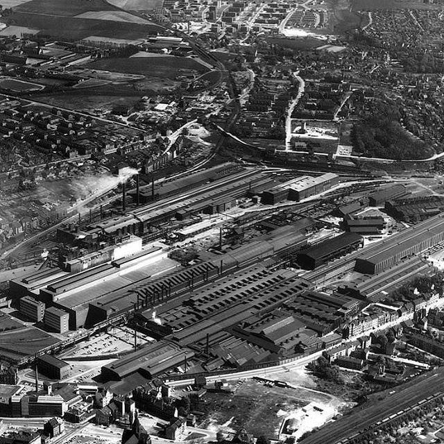 Dortmund damals! Ihr seht das ehemalige Stahlwerk auf ...