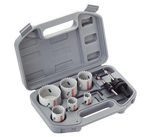 Bosch 2608580868 Coffret de 9 Scies-trépan bimétal HSS pour Electricien 20/ 25/ 35/ 40/ 51/ 68 mm: Price:61.8 Coffret en plastique rigide…