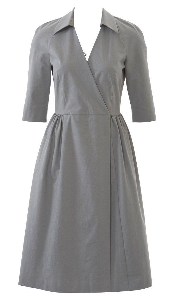 Платье с рукавами реглан: Burda 4/ 2015/ 122 / Burdastyle