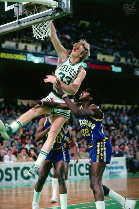 larry bird dunking basketball - Google Search