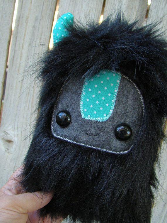 cute monster plush, stuffed Yeti