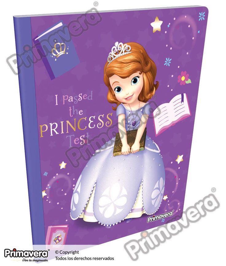 Cuaderno Cosido Infantil Princesita Sofía http://escolar.papelesprimavera.com/product/cuaderno-cosido-infantil-sofia-primavera-5/