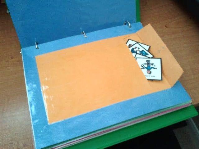 Storage for binders