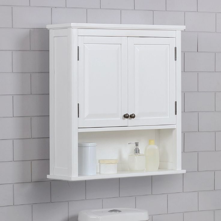 "dorset 27""w x 29""h wall mounted bath storage cabinet with"