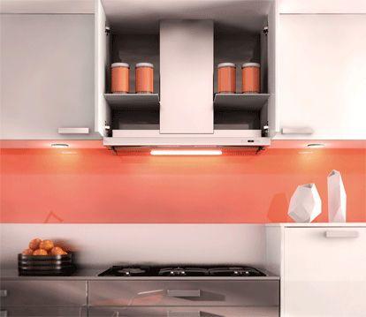 Hotte de cuisine tiroir / avec éclairage intégré PREMIUM 910 ROBLIN Group Franke - encastré dans les meubles, idée originale.