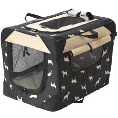 House of Paws Waterproof Print Collapsible Dog Crate on sale