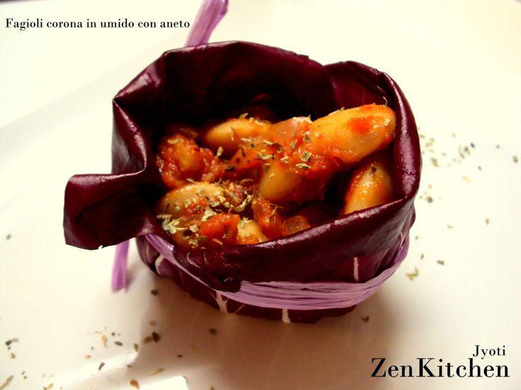 Fagioli corona in umido con aneto   Veganly.it - Ricette vegane dal web