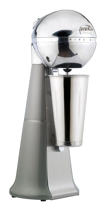 A-2001 Retro Silver ARTEMIS DRINK MIXER with inox cup. #silver