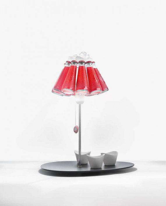 Ingo Maurer, lighting design at its best, Campari Bar lamp, Raffaele Celentano, 2013