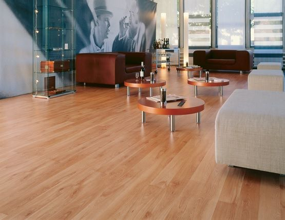 Light Cherry Wood Look Laminate Flooring