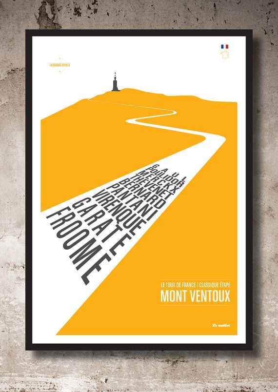 Mont Ventoux by Lemaillot on Etsy