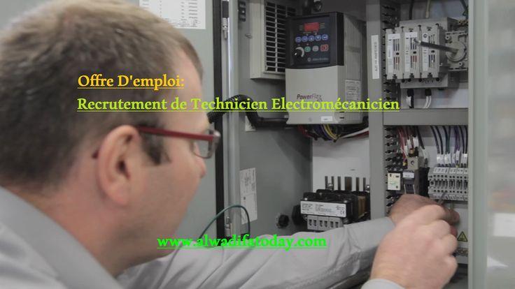 Offre D'emploi a Tectra Casablanca: Technicien Electromécanicien Contrat de Travail : Intérim Informations sur l'entreprise: Poste : No...