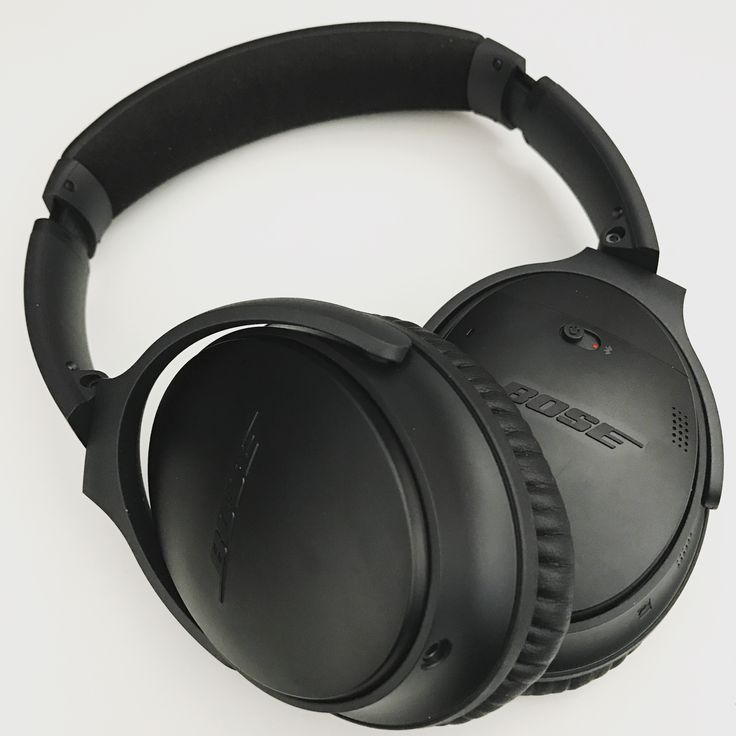 Bose QuietComfort 35 - awesome headphones with active noise canceling.