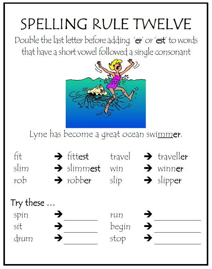 Spelling Rule #12 | Parkhurst State School