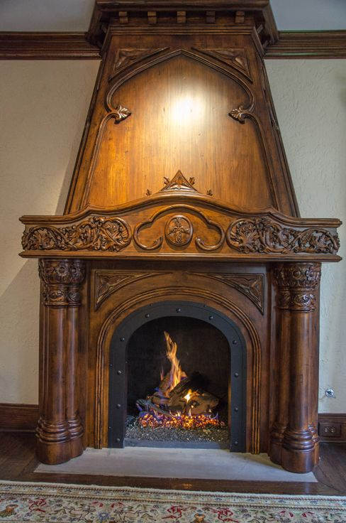 This fireplace is amazing! #LGLimitlessDesign and #Contest