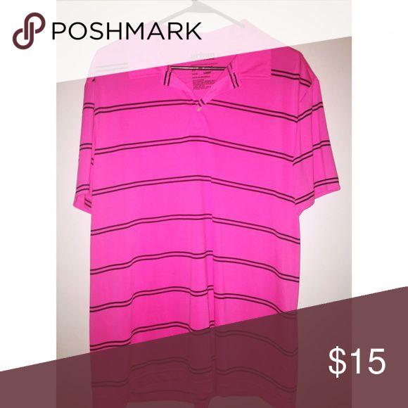 Hot Pink Polo Shirt Never worn Shirts Polos