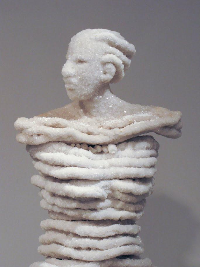 Salt Sculpture by Anat Eshed