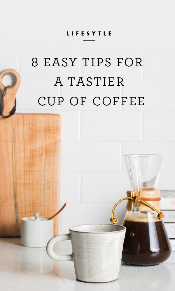 On those mornings when it's barely possible to keep your eyes open, it might be hard to fathom doing more than just hitting a switch, but small adjustments to your coffee-making routine can pay off in a significant way. Try the following tips and tricks and discover easy ways to make a tastier cup of joe.  / eBay