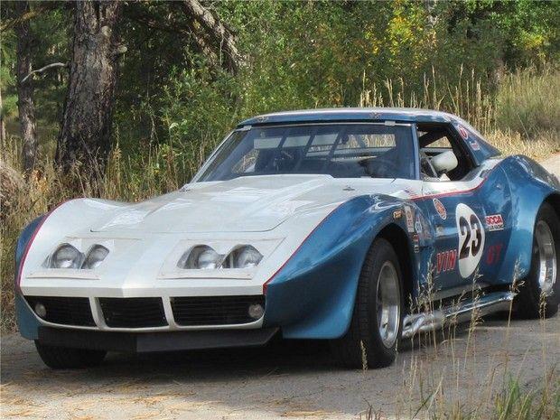 1969 CHEVROLET CORVETTE CUSTOM RACE CAR