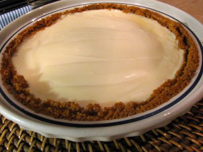 make a small baked cheesecake with only 1 pkg cream cheese! yummy! I'd make mine double chocolate :)