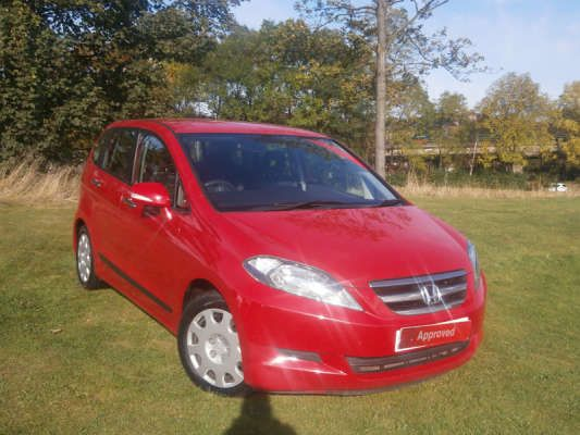 Used 2008 (58 reg) Red Honda Fr-V 2.2 i-CTDi SE 5dr for sale on RAC Cars