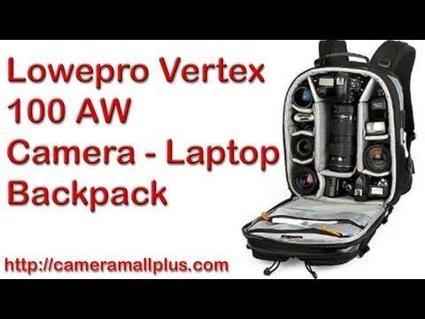 Lowepro Vertex 100 AW Camera - Laptop Backpack