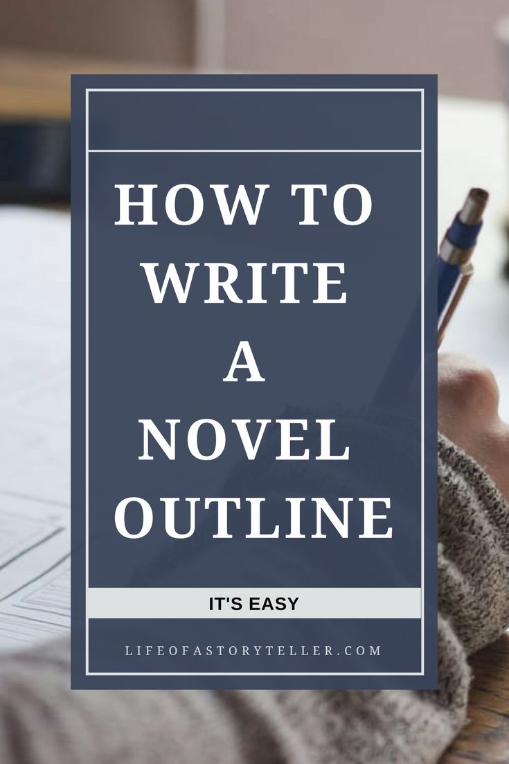 writing a novel outline Blogger tania strauss of ny book editors discusses whether you should outline your novel before beginning to write.
