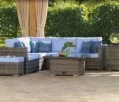 Bring the feeling of lakeside living into your backyard with the Jasper Collection!