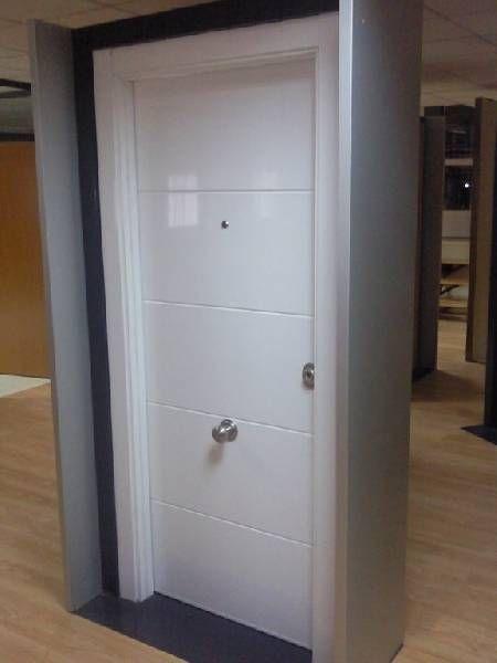 Puerta acorazada para exteriores puertas de seguridad for Mueble de aluminio exterior