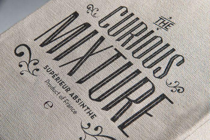 The Curious Mixture Logo