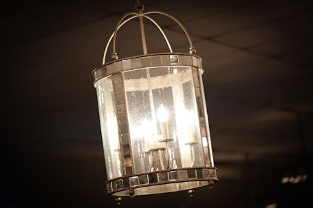 A2 9239 Corsica lantern (Large) in Harlow silver finish