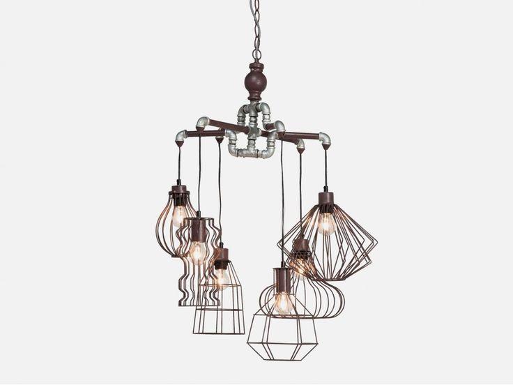 Lampa Wisząca Pipeline Wire — Lampy wiszące — KARE® Design