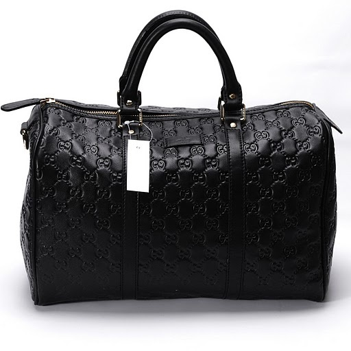 Gucci Handbags 193603 Black Lady fashion classic Spring Summer style series leather embossed Handbag